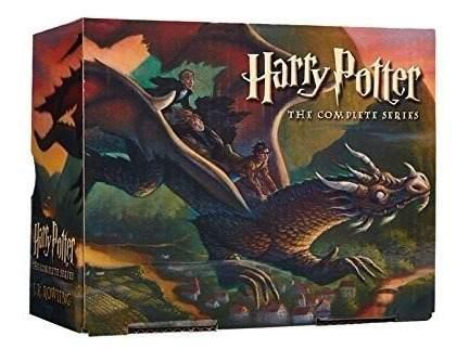 Harry potter saga coleccion de libros completa [ingles] box
