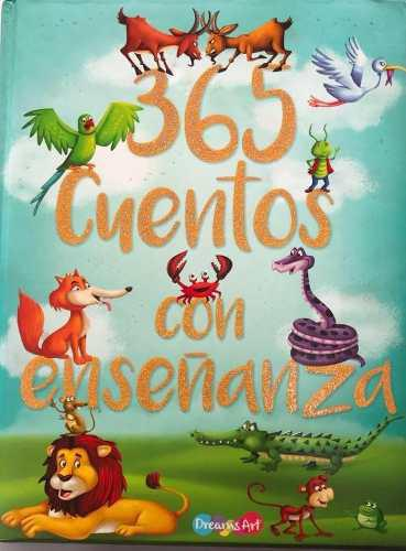 Libro 365 cuentos con enseñanza niños lectura educativa