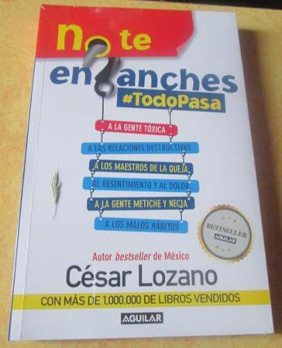 Libro no te enganches # todo pasa + envío gratis