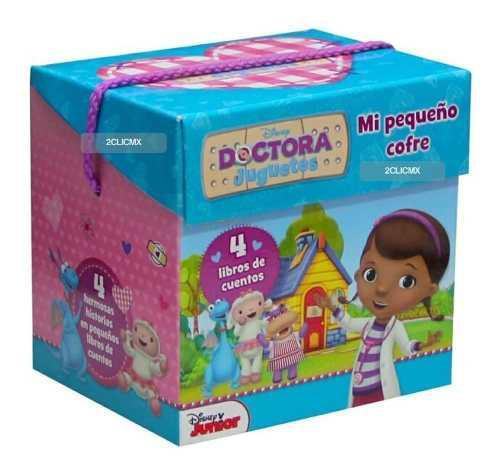 Libros infantiles mi pequeño cofre disney doctora juguetes