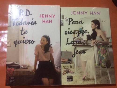 Libros p.d. todavia te quiero y para siempre, lara jean