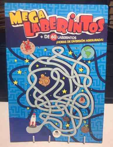 Mega laberintos - libro