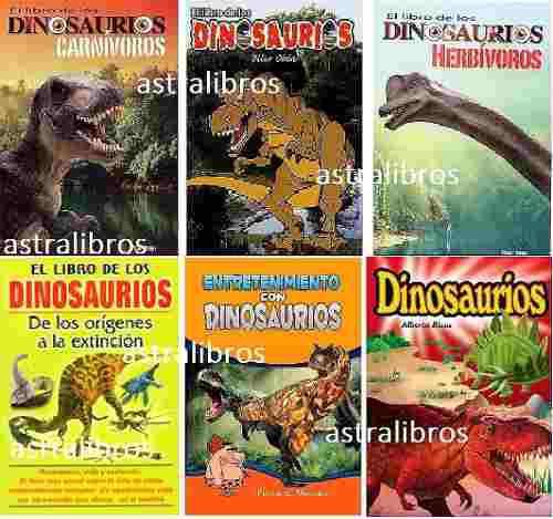 Paquete 6 infantil dinosaurios