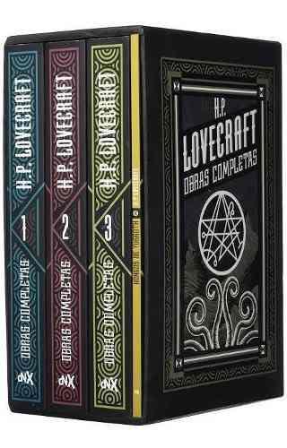 Paquete h.p. lovecraft - obras completa - 4 tomos - nuevo