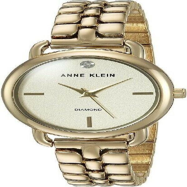 Reloj anne klein diamond ak/2794chgb