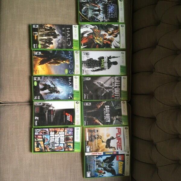 Xbox 360 elite con kinect y juegos