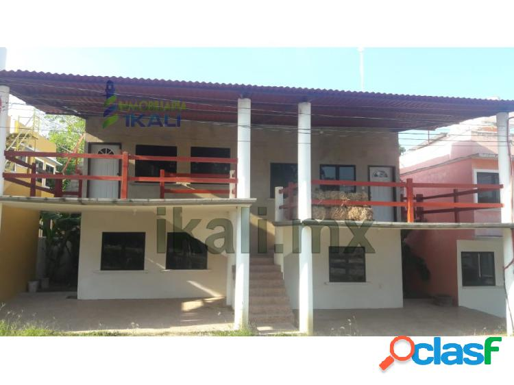 Renta departamento 2 recámaras climatizada colonia villa rosita tuxpan veracruz, villa rosita