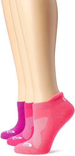 Calcetín de corte bajo asics women's cushion (paquete de