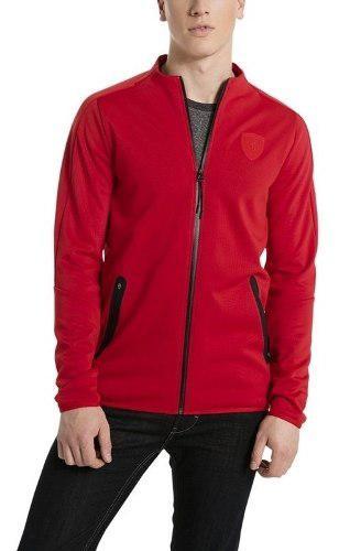 Chamarra puma ferrari rojo t7 573455-02 look trendy
