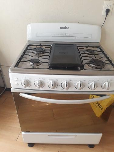 Estufa mabe 6 quemadores y horno