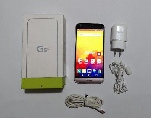 Lg g5 se, lg-h840, estetica 9.5, rosa, en caja libre