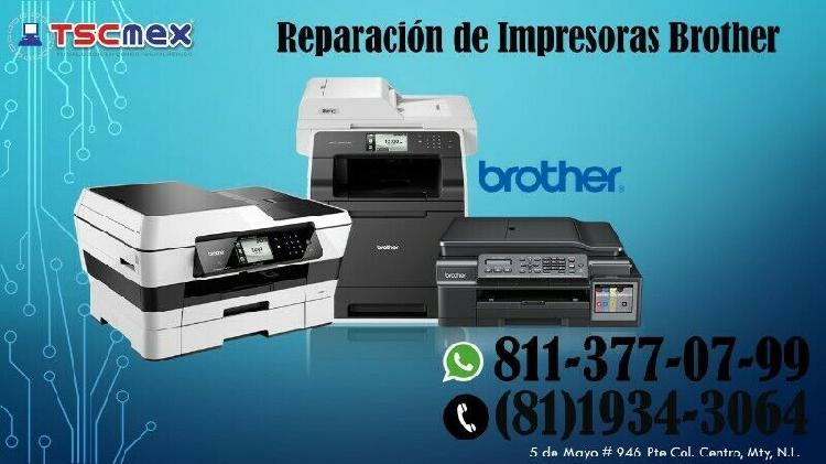 Mantenimiento a impresoras brother en guadalupe