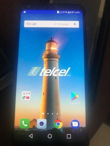 Remato celular nuevo lg q6+ 64 gb almacenamiento