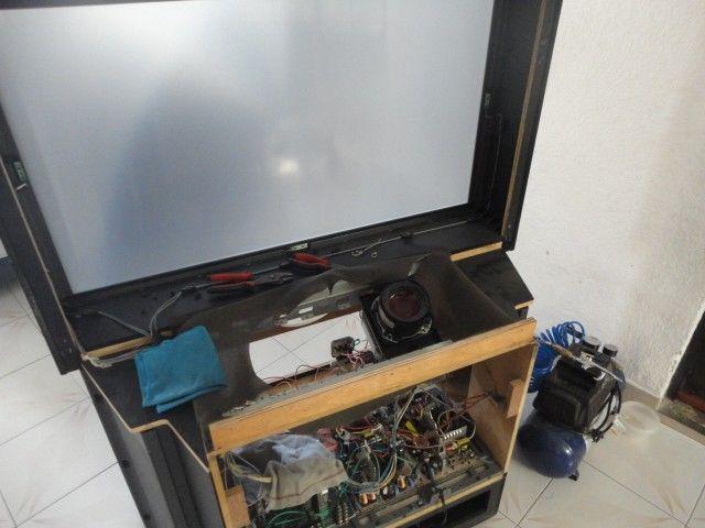 Reparación de pantallas de proyección
