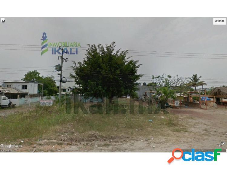 Venta terreno 600 m² col. villa de las flores poza rica veracruz, villa de las flores