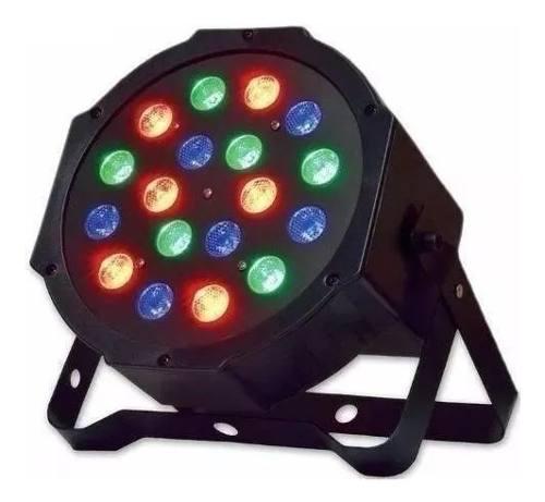 Cañon led reflector 18x1 rgb led 64 luces ridgeway (oferta)