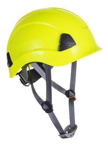 Casco de rescate, color amarillo alta visibilidad