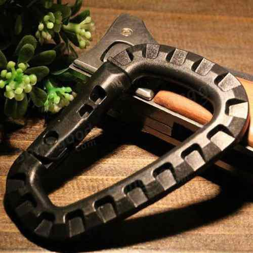 Clip mosqueton táctico alta resistencia peso oferta