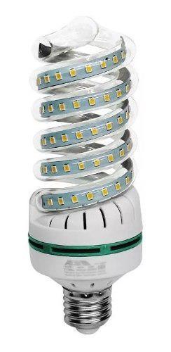 Focos ahorradores led casa hogar luz blanca 40w 6000k
