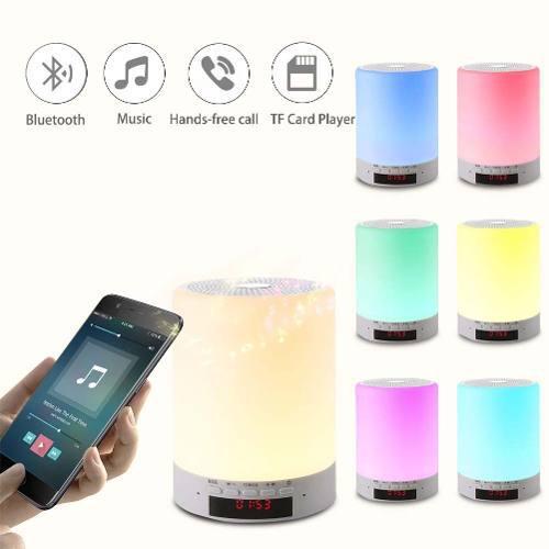 Lampara de noche led,multifuncional lampara led de mesa reca