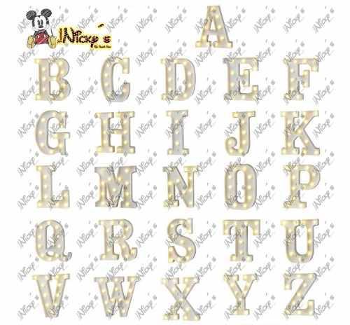 en centro Lampara mesa eventos led de para para letras de 2DIHWE9