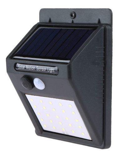 Lamparas solares 25 led sensor movimiento impermeable ip65