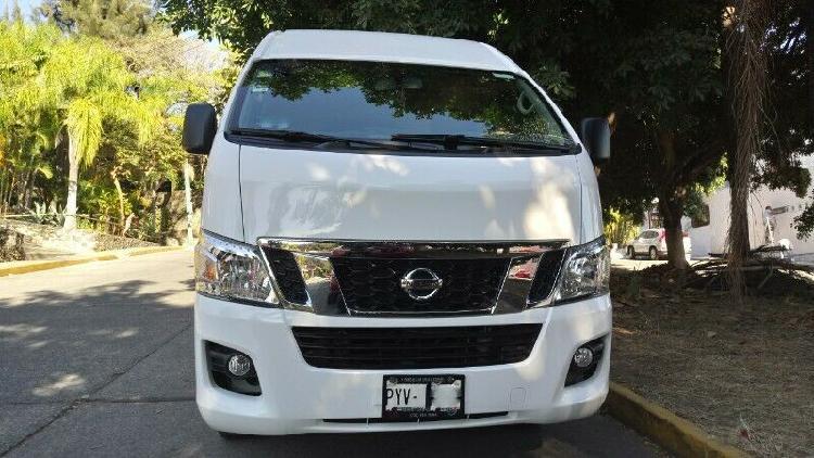 Nissan Urvan 12Psj Seminueva 30000km Servicios En Agencia
