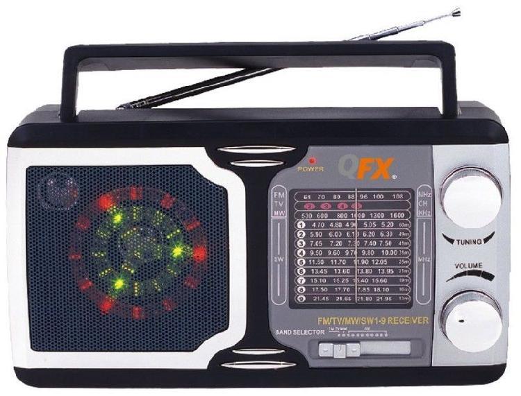 Qfx r14 retro collection radio am / fm / sw 1-9