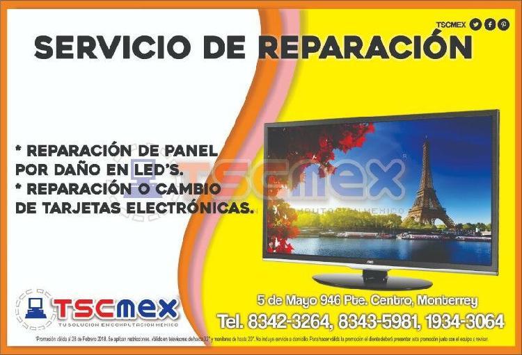 Reparación de televisores en monterrey