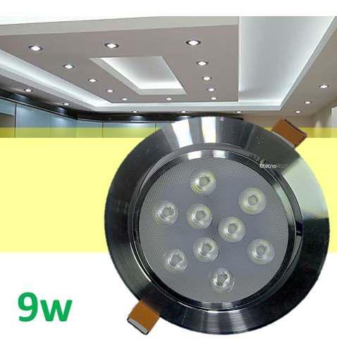 Spot led 9w foco dirigible alta calidad y potencia real tipo