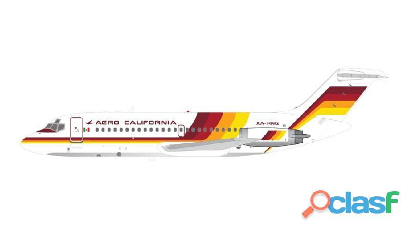 Avión a escala DC 9 2