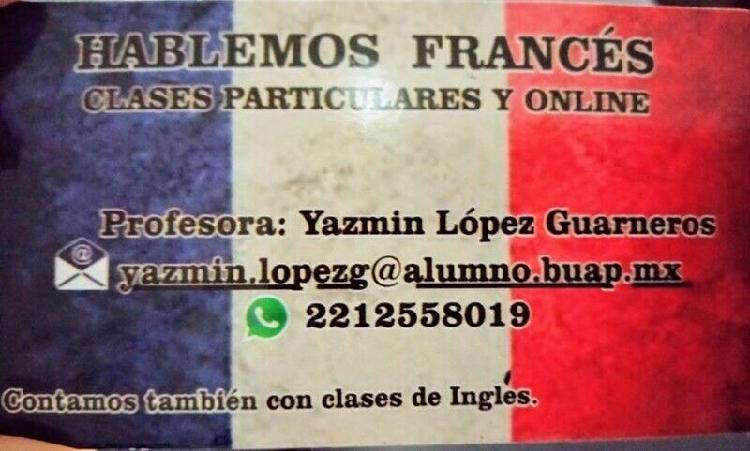 Clases de francés e inglés con profesores especialistas en