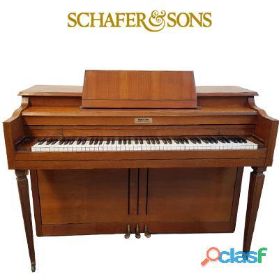 Piano marca schafer & sons, espineta.