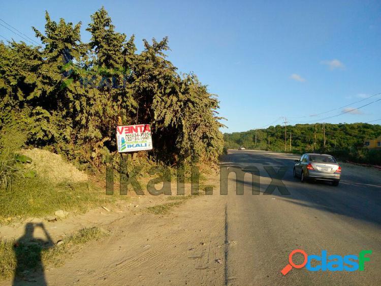 Venta hectáreas boulevard adolfo lopez mateos tuxpan veracruz, los mangos ampliación
