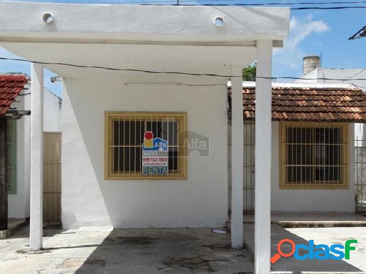 Casa en renta amueblada en mérida colonia maya zona norte