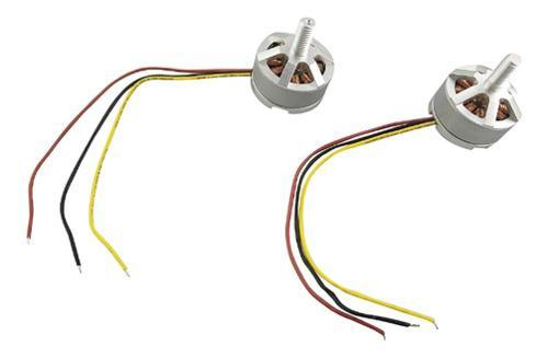 2 piezas motor cw ccw para mjx b3 bugs 3 rc drone