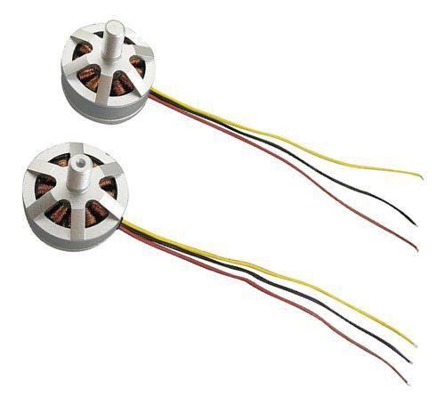 2 piezas motor cw ccw para mjx b3 bugs 3 rc drone quadcopter