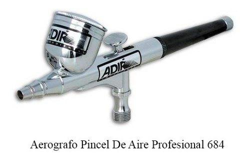 Aerografo pincel de aire profesional adir 684