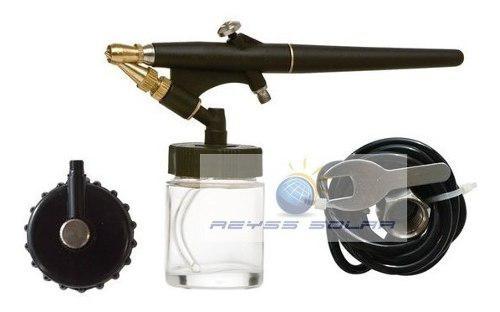 Aerografo sencillo 0.1cm profesional c/ manguera 2mts