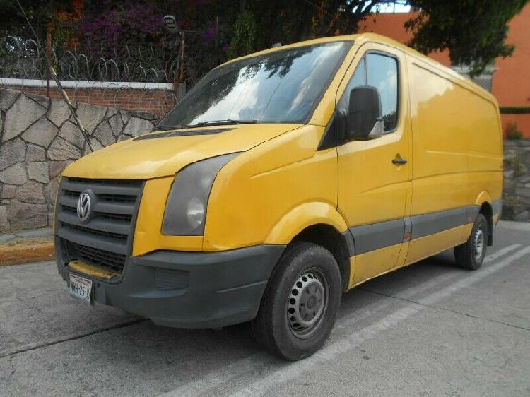 Camioneta vw crafter cargo van a diesel, mod. 2009