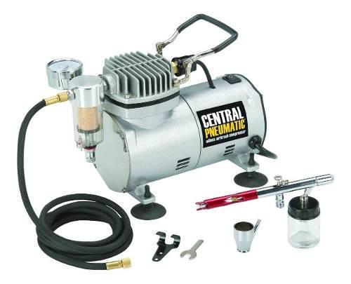 Kit compresor de aerógrafo 1/5 hp 58 psi
