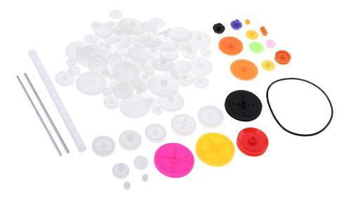Kit de m0.5 engranajes de plástico para juguete robot diy