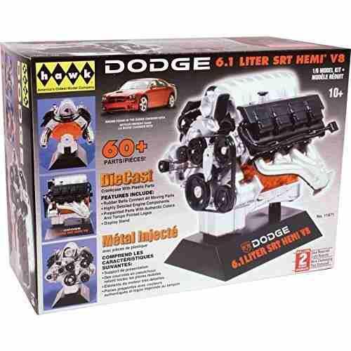 Kit escala 1/6 para armar motor dodge srt-8