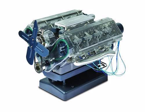 Kit juguete para elaborar propio motor v8 para niños
