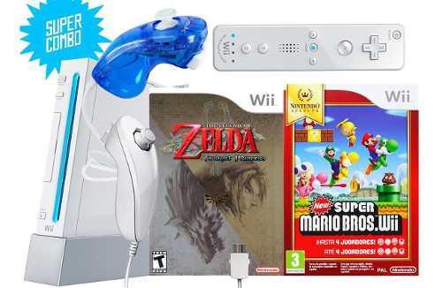 Nintendo wii + 2 juegos originales // ¡combo!
