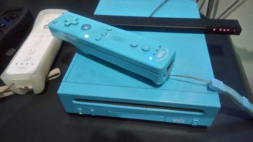 Nintendo wii con 2 controles y muchos juegos