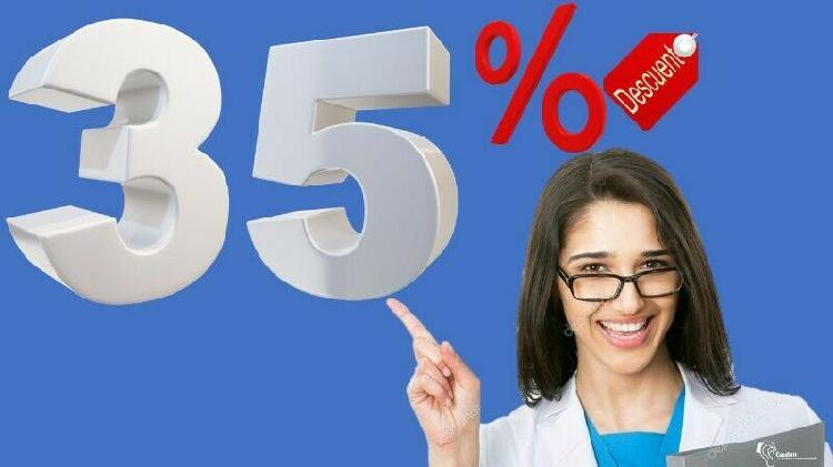 Promoción cambia tu aparato 35% de descuento