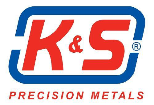 Tubos de aluminio de 1/4 x 35 pulgadas de largo marca k&s