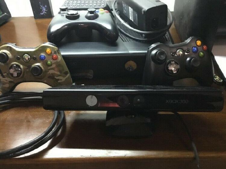 Xbox 360, acessorios y juegos