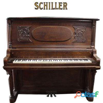 Piano antique 1910 vertical alto marca schiller.